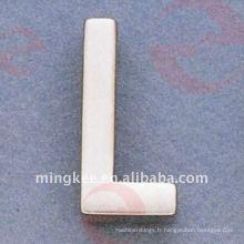 """Accessoires décoratifs du sac à main """"L"""" de petite lettre (O34-674A-L)"""