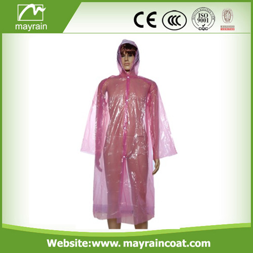 Emergency PE Raincoat and Poncho