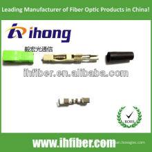 SC APC conector de fibra óptica rápida