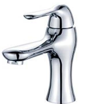 Латунный хромированный смеситель для горячей и холодной воды