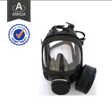 Military Full Face Gas Mask with Single Canister