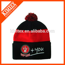 Зимняя полосатая шапочка