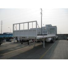 CIMC FLATBED مع BOGGIE SUSPENSION SEMI-TRAILER