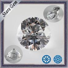 Star Cut Cubic Zirconia Gemstone para Jóias