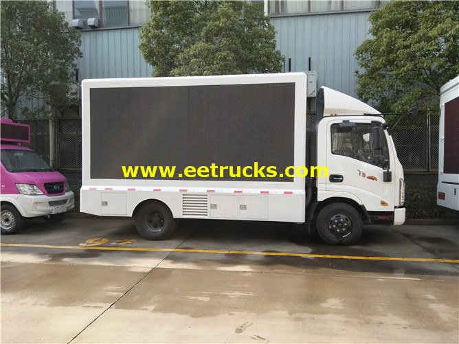 LED Display Advertising Truck
