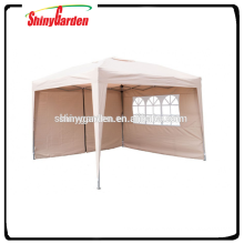 3 * 3 m Party tent Easy Up beige foldable
