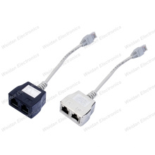 Cat5e RJ45 Ethernet Splitter Adapters