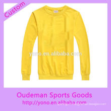 Printemps hiver personnalisé sports o-cou hoodies