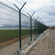 3d welded wire mesh fence panel for garden