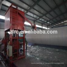 Enrolamento controlado automático da fibra de vidro / tubulação de filamento de FRP / GRP que faz a máquina com moldes