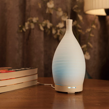 Electric Humidifier Ceramic Mushroom Room Misting Diffuser