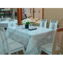 Transparent Fancy Table Cloth PVC Table Cover