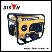 BISON (CHINA) 15hp gasolina gerador, 3.5kw honda gasolina gerador, gerador de gasolina manual