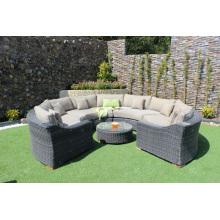 Wicker Synthetic Rattan Sofa Set