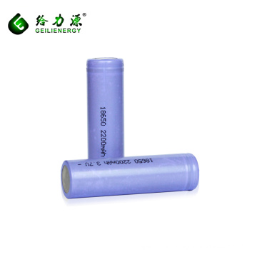Wholesale prices 3.7v 2200mah battery batteries 18650 li-ion battery