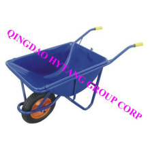 Japan popular metal wheelbarrow 58L