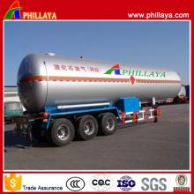 Fornecedores do reboque do tanque do LPG / reboque do tanque do LPG semi