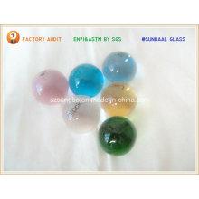 Perle de verre ballon/Logo logo verre
