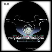 Maravilhoso K9 Crystal Clock T067