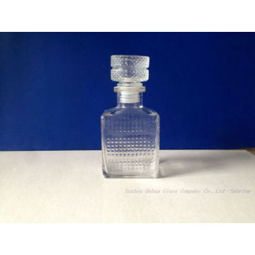 300ml Clear Glass Wine Bottles with Glass Stopper