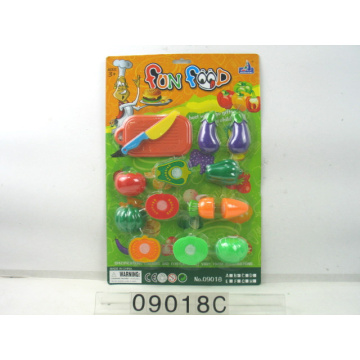 Education Plastic Kitchen Cutting Toy for Kids