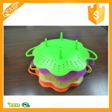 Durable food grade silicone kitchenware steamer