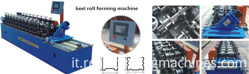 keel roll forming machine show