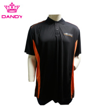 Plus size heren golf kraag shirt