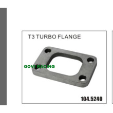 Auto de escape de acero inoxidable T3 Turbo Flange Outlet