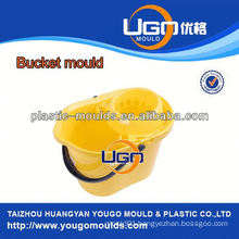 TUV assesment mould factory/new design magic mop bucket mould in China