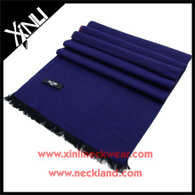 2015 New Product Silk Brushed Custom Solid Scarf