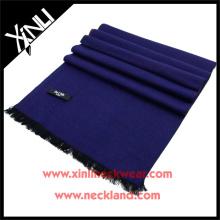 2015 novo produto seda escovado lenço sólido personalizado