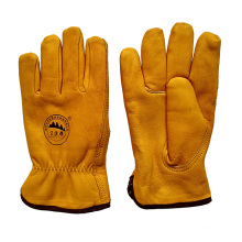 Schutzmaßnahmen Warm Leder Riggers Handschuhe für Bergleute mit Full Futter