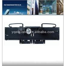 2 panneaux côté ouverture ascenseur mécanique porte opérateur