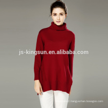 Acrylic Wool Ladies Full Sleeve Knitted Clothing Pullover,Women Sweater