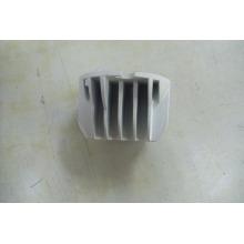 China famoso alumínio fundição peças / personalizado feito die casting / alumínio die cast lâmpada dissipador