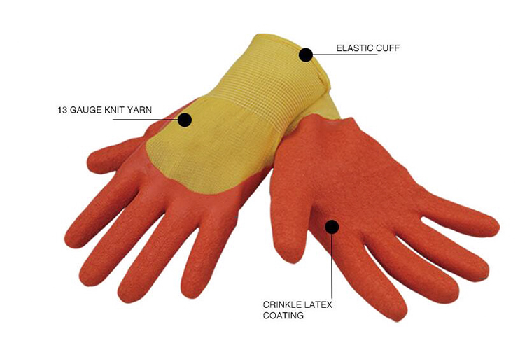 Latex Coated Safety Glove