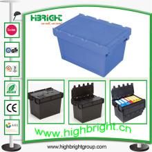 Récipient logistique en plastique, récipient emboîtable, boîte emboîtable