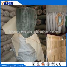 Anping 6 x 6 galvanizado electro cuadrado tejidos red de alambre fábrica