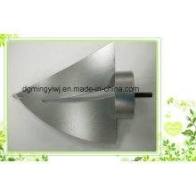 Produit en moulage sous pression en alliage d'aluminium avec des ventes oxydantes anodiques et chauffées Fabriqué en usine chinoise