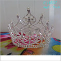 Atacado Moda pérola grande concurso de tiara full high kings crowns pictures