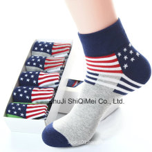 Manufacture Customer Design Colorful Country National Flag Socks