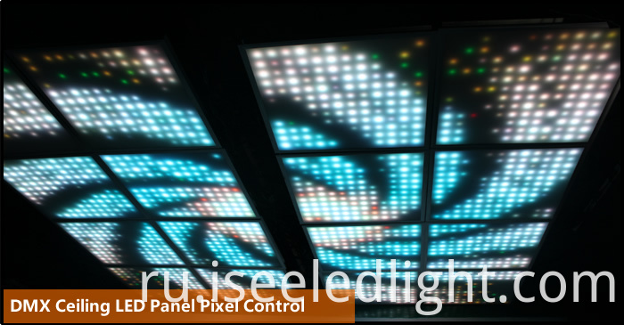 dmx512 controlled led panel