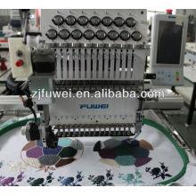 Preços da máquina de bordar do boné da T-shirt (FW1201)