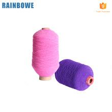 Hilo de elastano de hilo elástico de goma colorido de alta tenacidad
