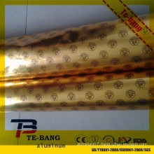 Zhengzhou hot sale aluminum foil chocolate wrapping paper for butter wrapping