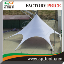 waterproof star tent used in wedding party or trade fair event for sale