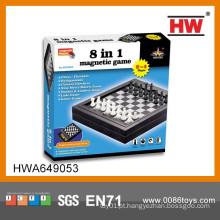Alta qualidade magnética antigo jogo de xadrez para criança e adultos