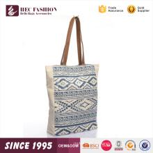HEC Super September Fancy Trend Blau Designer Frau Daily Shopping Leinwand Mittagessen Einkaufstasche