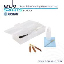 Borekare 9-PCS Military Hunting Gun Cleaning Rifle Kit (without Rod)